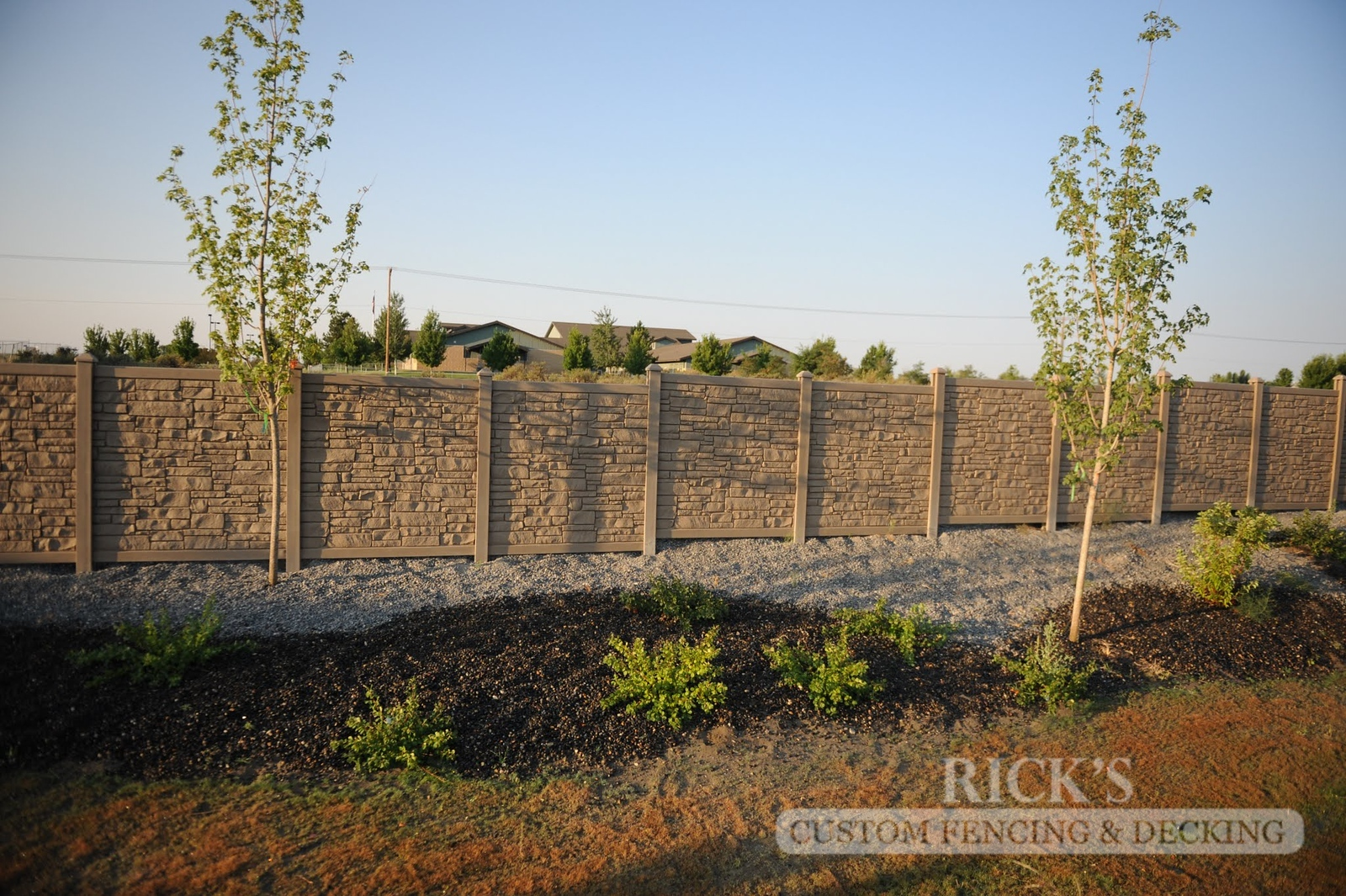 4028 - Allegheny Simulated Rock Fencing