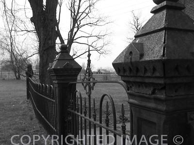 Fences (B & W)