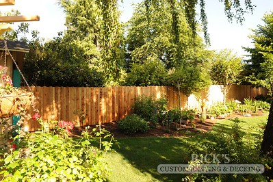 Cedar Decorator Fencing