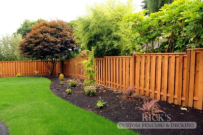 Cedar Good-Neighbor Fencing
