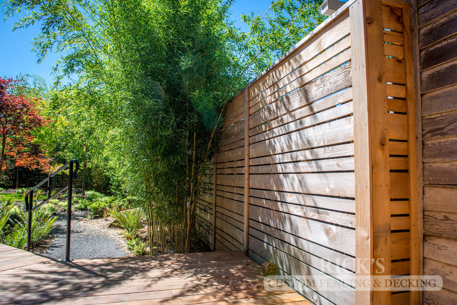 2403 - Custom Cedar Horizontal Fencing