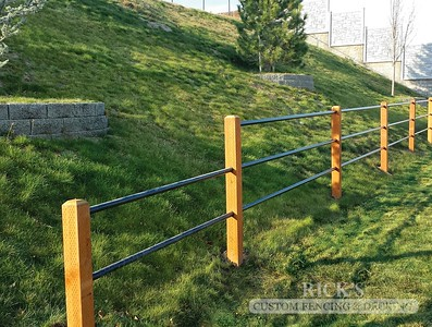 4311 - Pipe Rail Fencing