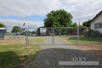 4126 - Galvanized Chain Link Fencing