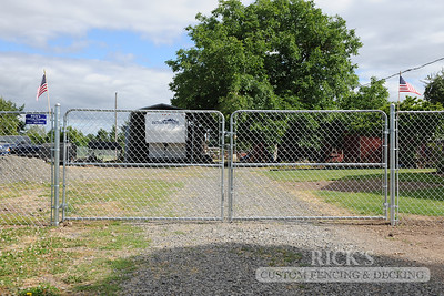 4125 - Galvanized Chain Link Fencing