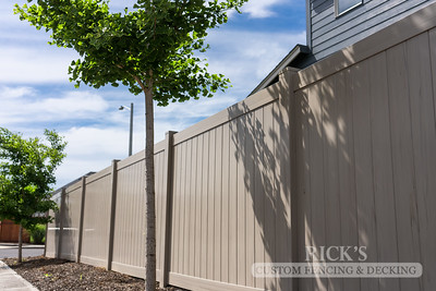 3048 - Driftwood Vinyl Privacy Fencing
