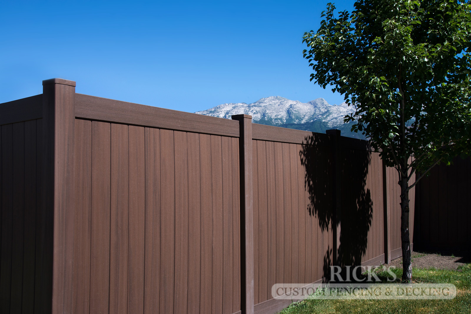 3029 - Vinyl Privacy Fencing