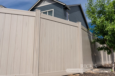 3047 - Driftwood Vinyl Privacy Fencing