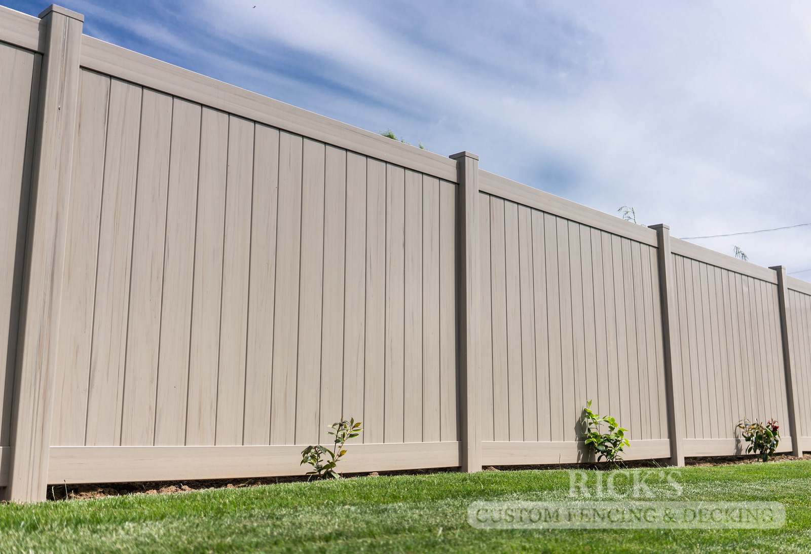 3042 - Driftwood Vinyl Privacy Fencing