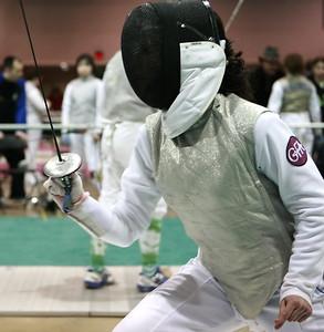 Jacqueline Heath, Womens Foil 2009 Junior Olympics