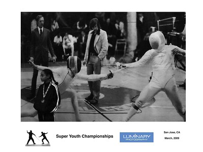 2009 Paul Pesthy Memorial Super Youth Circuit Fencing Tournament, March 28-29 Galleries - San Jose, CA - Two photography books covering the 2008 event are also available. See links on home page.
