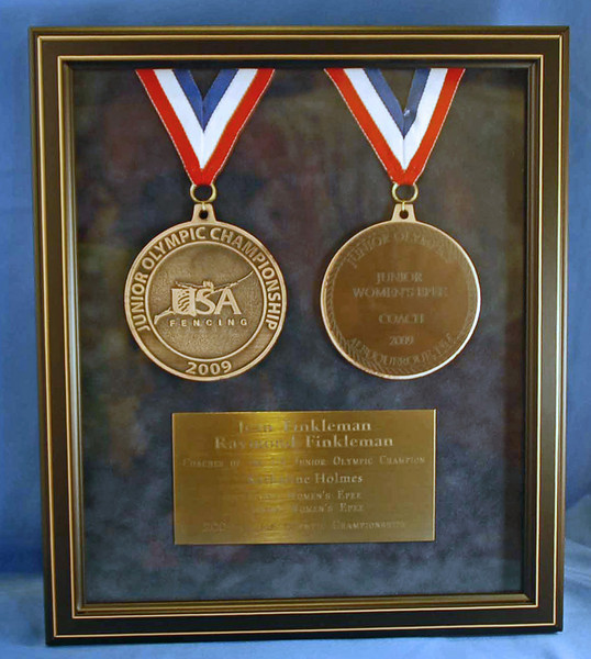 Katharine Holmes, US National Champion, Junior Women's Epee and Cadet Women's Epee, Junior Olympic Championships 2009.
