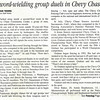 Article in the Northwest Current newspaper published on August 10, 2005 (page 1 of 3).
