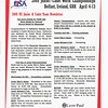 This April 8, 2009 newsletter, produced by the USFA, was distributed to all attendees at the 2009 Cadet World Championships in Belfast, Ireland.  CCFC fencer Katharine Holmes, silver medal, Cadet Worlds!!