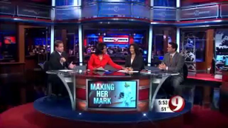 WUSA (CBS) video featuring Bettie Graham broadcast on December 14, 2006.