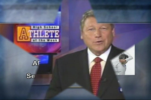 ABC's WJLA selected Katharine Holmes as High School Athlete of the Week.  Broadcast on September 25, 2008.
