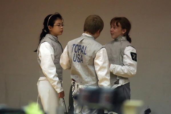 Edwardville YMCA Fencing Tournament 2011