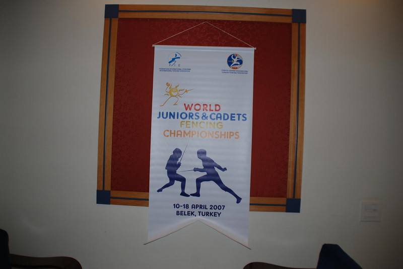 Junior/Cadet World Championships banner