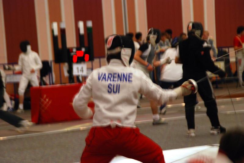 Fencer from Switzerland.
