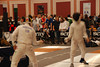 James Kaull vs a Kuwaiti fencer.