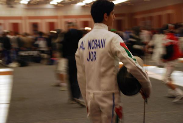 Fencer from Jordan.