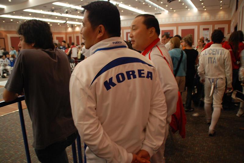 Coaches from Korea.