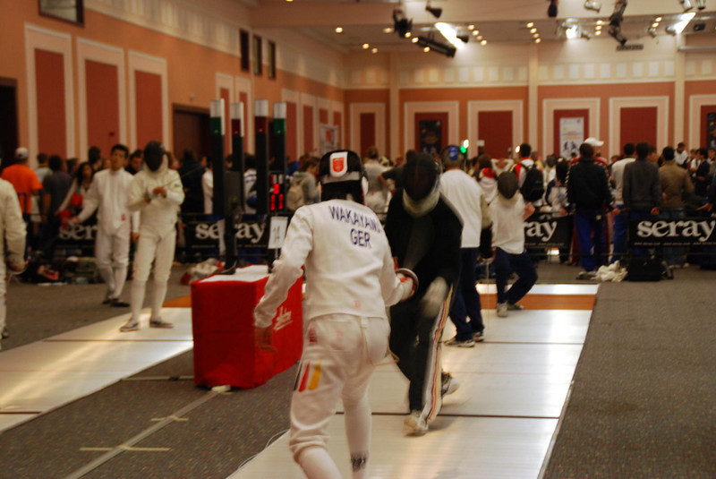 Fencer from Germany.