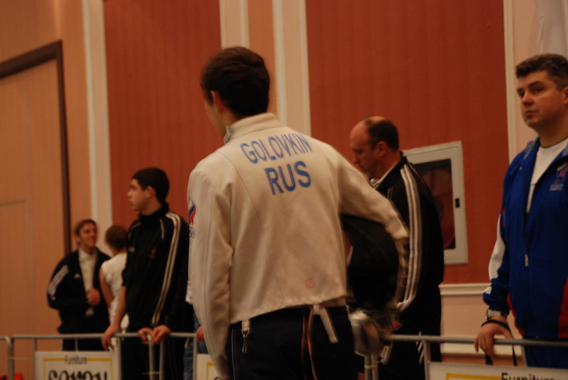 Fencer from Russia.