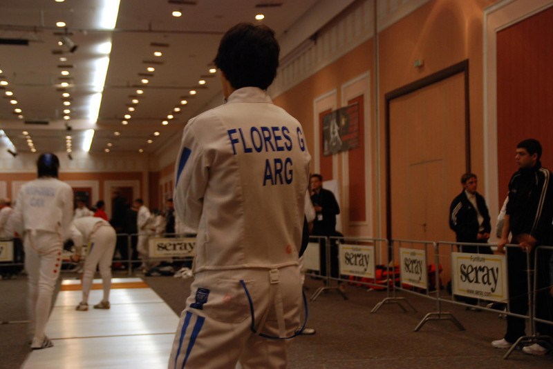 Fencer from Argentina.