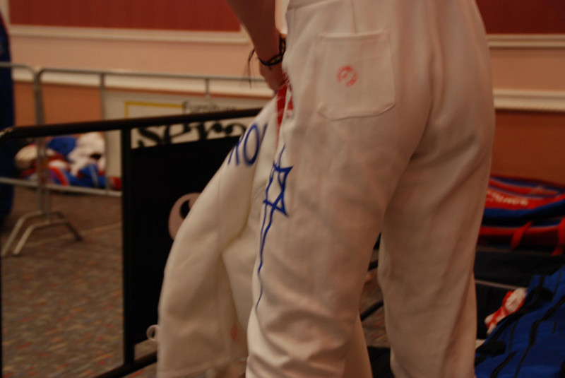 Fencer from Israel.