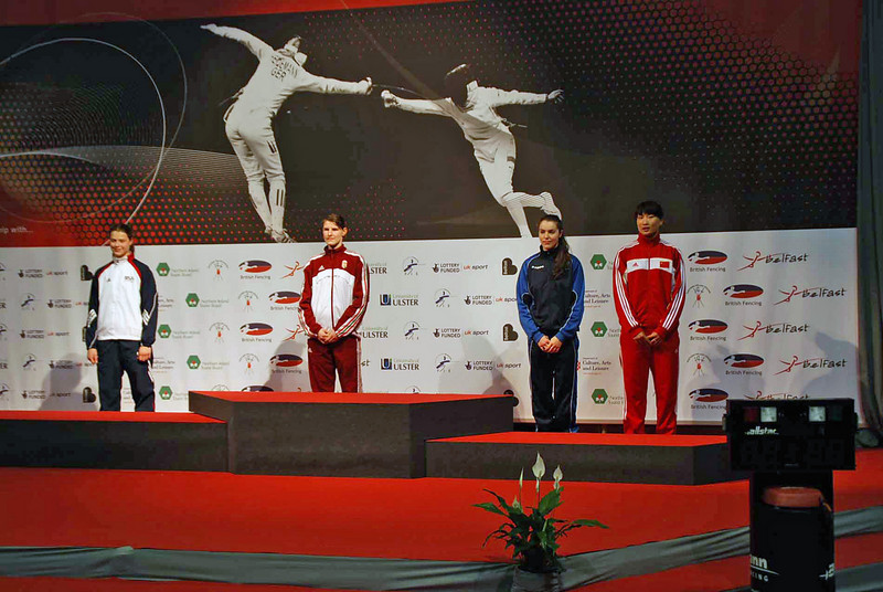 The medalists of the 2009 Cadet Women's Epee World Championships.