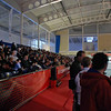 The stands are packed during the gold medal bout.