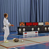 Nina Moiseiwitsch prepares for the gold medal bout in the Cadet National Championships.