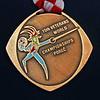 Bettie Graham's Bronze World Championship Medal (front).