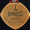 Bettie Graham's Bronze World Championship Medal (back).