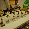 The trophies to be awarded to the top 8 fencers in the Modling cadet designated tournament.
