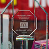 The first place trophy for the Heidenheim McDonald's Cup.  The finalists also received gifts.
