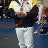 Seth Flanagan, 3rd place, Youth-14 Men's Epee Qualifiers. (Photo by Melanie Carr)