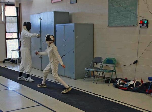 Jared Heath (right) vs Ben Wilson.