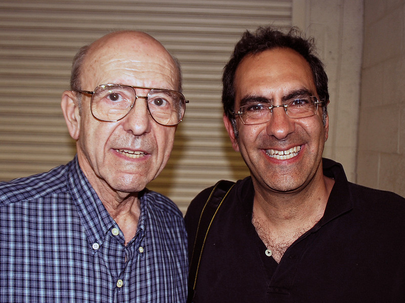 Larry Freedman and his father watched Levi win the tournament.