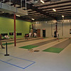 Rockville Fencing Academy's new facility at 15221 Display Court.