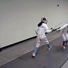 Lizzie Wiggins scores on her opponent.