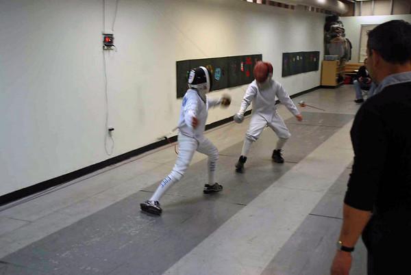 Levi Freedman(left) vs. Rory Hagerty.