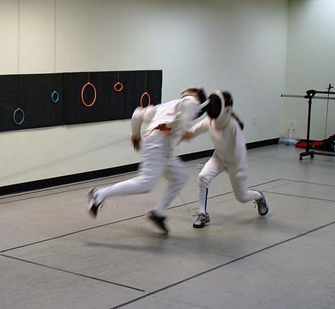 Cameron Sullivan (left) vs. Elizabeth Wiggins.