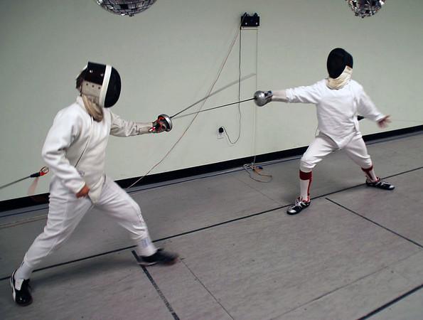 Cameron Sullivan (left) vs. Victor Teelucksingh.