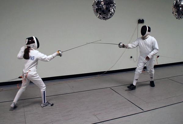 Elizabeth Wiggins (left) vs Seth Flanagan.
