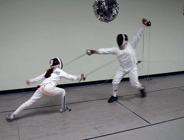 Elizabeth Wiggins (left) vs. Seth Flanagan.