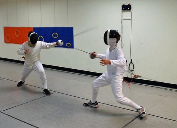 Cameron Sullivan (left) vs. Sam Hayden.