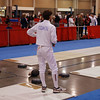 Ben Cohen in the Junior Men's Epee.
