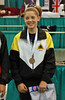 Lena Abraham, 3rd place in Division III Women's Foil