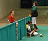 Nina Moiseiwitsch and her mom, Francoise Seillier-Moiseiwitsch at the Division III Women's Epee.